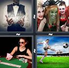 4 Pics 1 Word answers and cheats level 1038