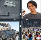 4 Pics 1 Word answers and cheats level 1101