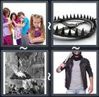 4 Pics 1 Word answers and cheats level 1724