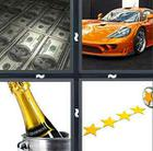 4 Pics 1 Word answers and cheats level 734