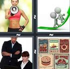 4 Pics 1 Word answers and cheats level 804