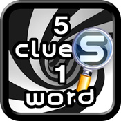 5-clues-1-word-answers-icon
