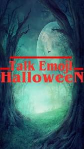 talk emoji halloween